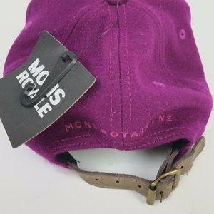 e24192709 Mons Royale Accessories - Mons Royale Signature Wool Ballcap Unisex Purple